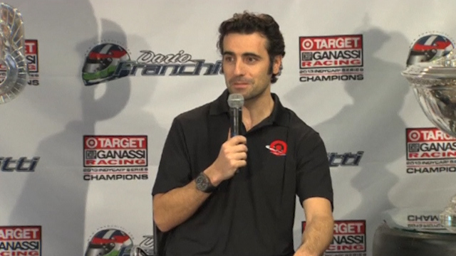 Franchitti Says His Driving Days are Over