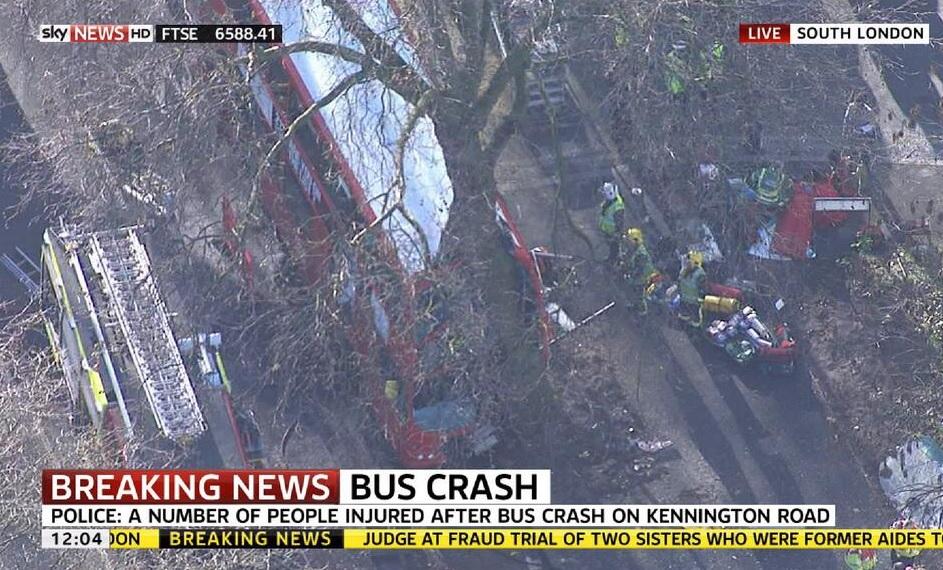 kennington bus crash