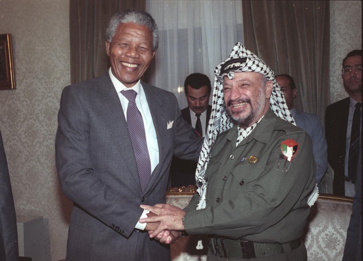 Mandela Arafat