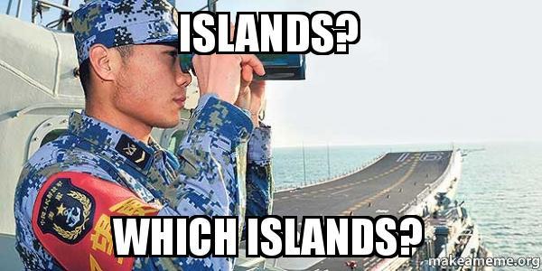 East China Sea islands
