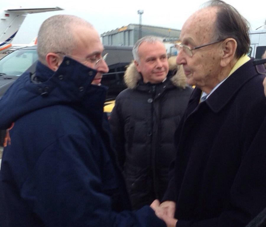 Khodorkovsky Free Germany