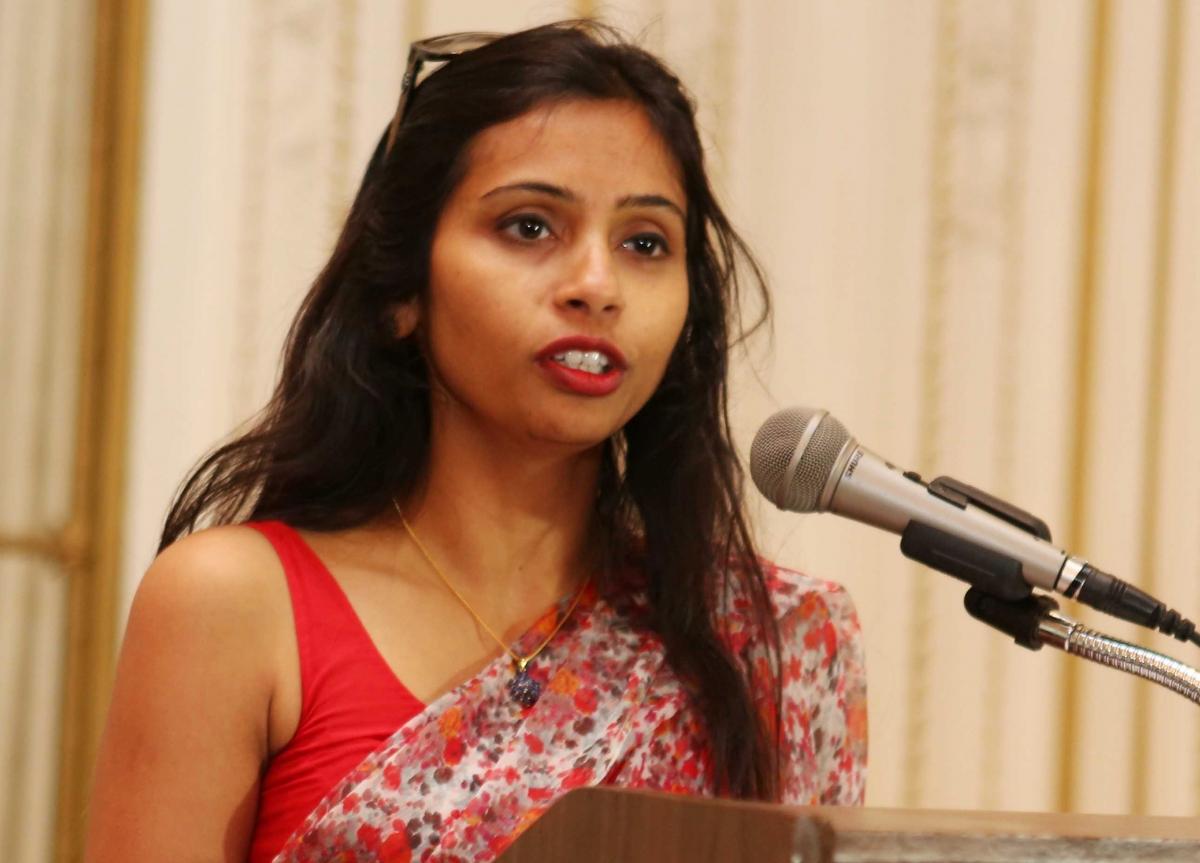 India's Deputy Consul General in New York, Devyani Khobragade,