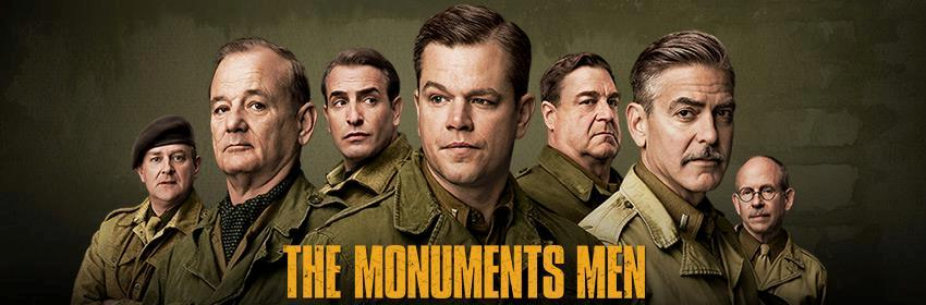 The Monuments Men: one of the films that could not release in 2013