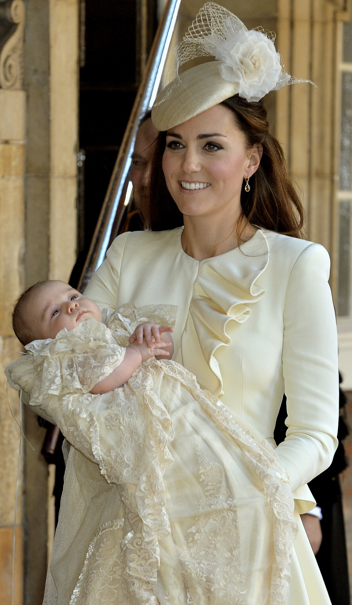 Kate Middleton with Prince George