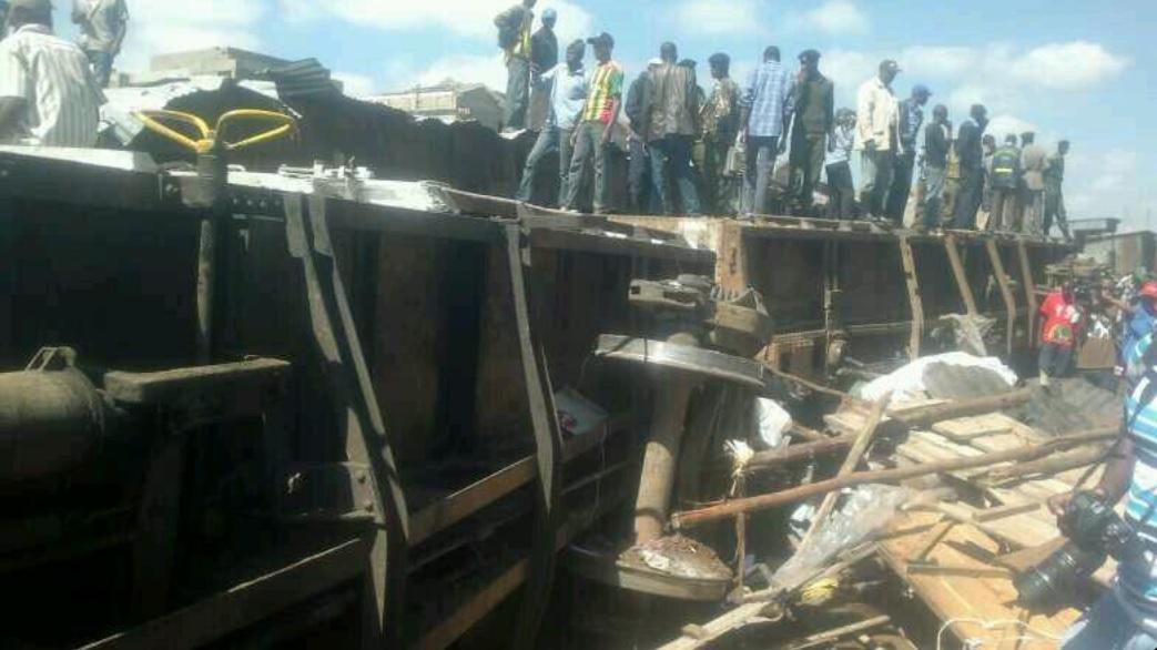 Kibera train crash