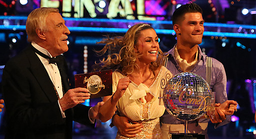 Abbey Clancy on Strictly