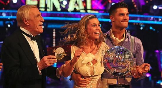 Abbey Clancy wins Strictly