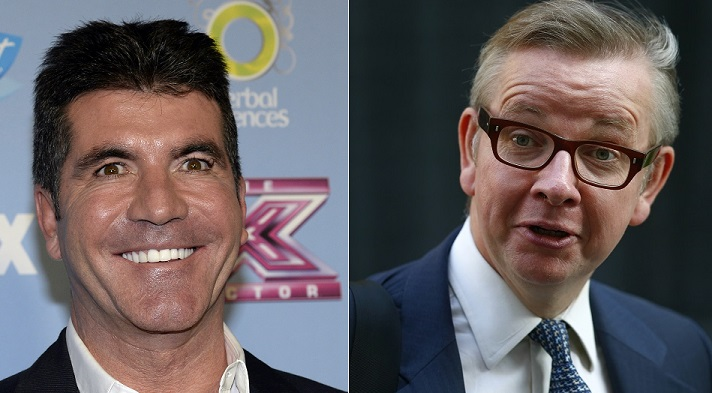 "Simon Cowell has hit back after Education Secretary Michael Gove slammed his advice ""be useless at school"""