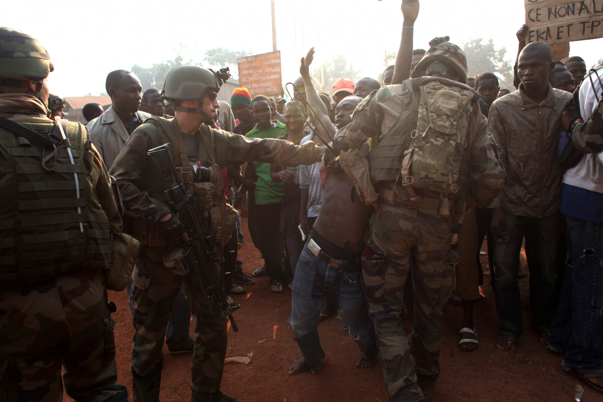 CAR Violence Peacekeepers