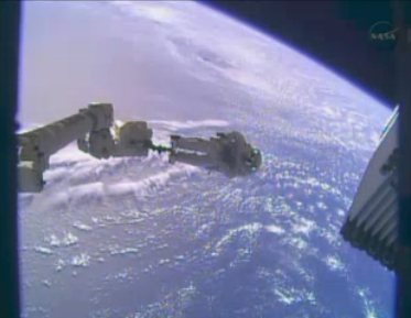 nasa spacewalk Christmas Eve