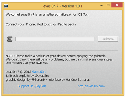Evasi0n7 1.0.1 Update Released: How to Jailbreak iOS 7 Untethered on iPhone, iPad, iPad mini and iPod Touch [VIDEO GUIDE]