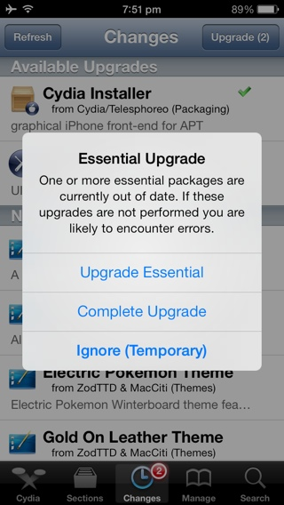 Evasi0n7 iOS 7 Untethered Jailbreak: Cydia 1.1.9 Update Brings Visual and Compatibility Improvements [VIDEO]