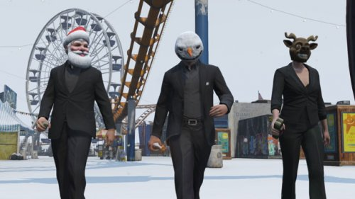 GTA 5 Online: Rockstar's Holiday Gifts and Discounts Transform Game into West Coast Winter Wonderland