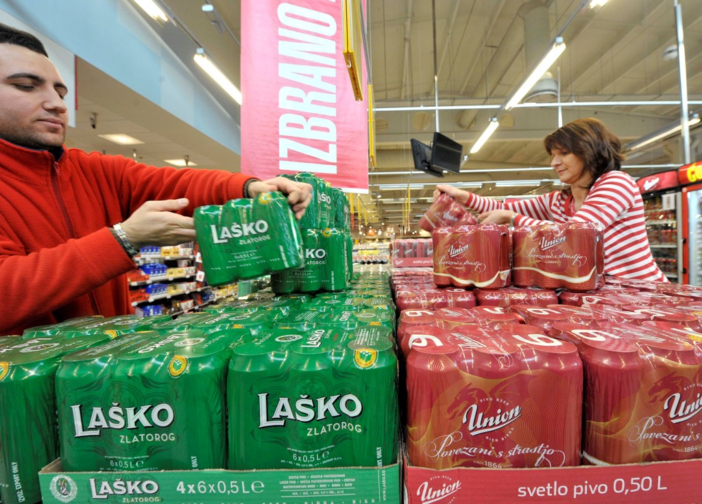 Lasko Union Beer Cans