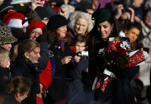 Kate Middleton at Sandringham Estate