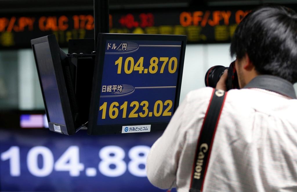 Japan's Nikkei Share Average And Yen