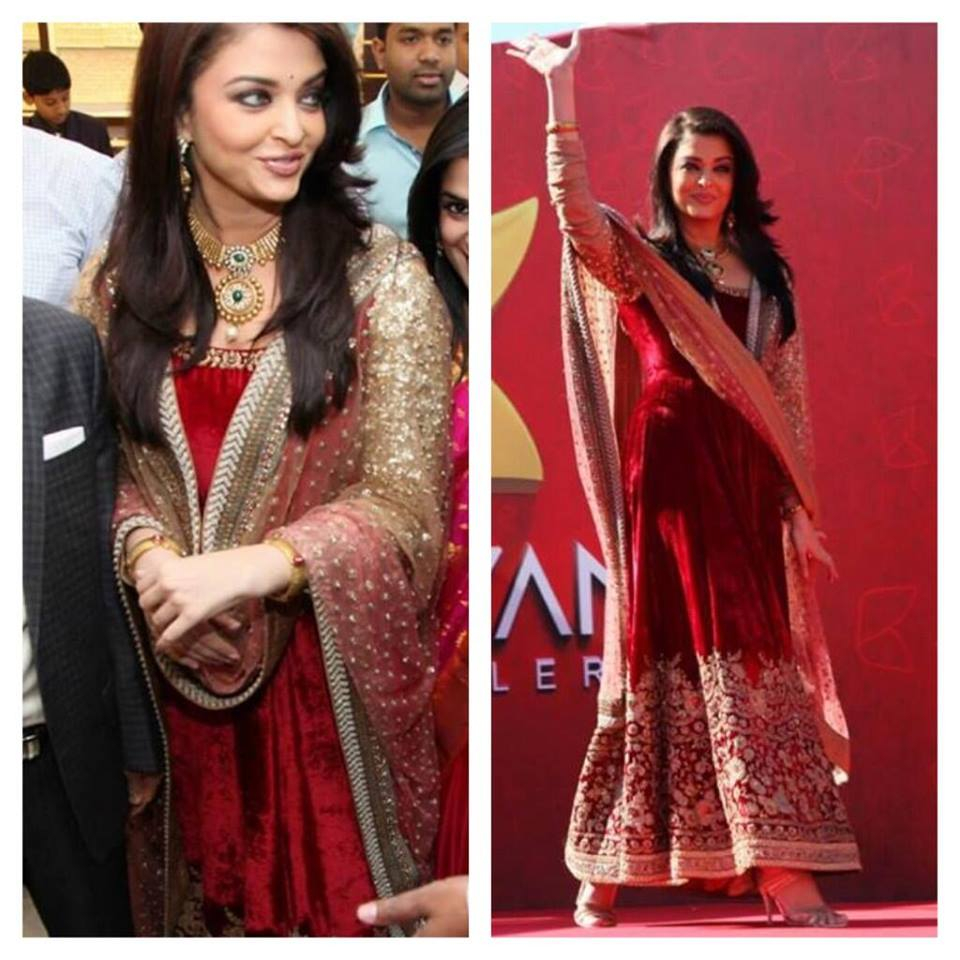 Aishwarya Rai attends jewellery store's opening in UAE.