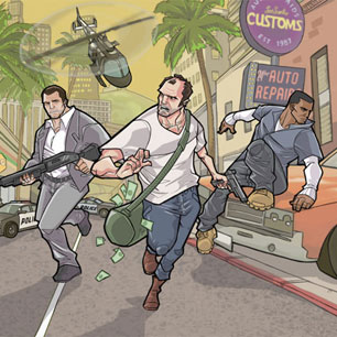 GTA 5 Online: Rockstar Shares Inspired Fan Photos of Famous Hollywood Rides and Mock Adverts [PHOTOS]