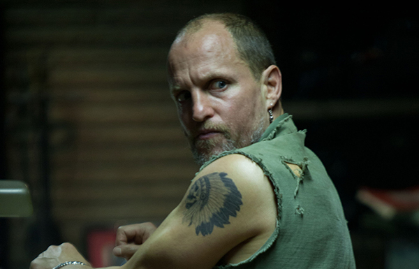 Woody Harrelson as Harlan DeGroat in out of the Furnace (Relativity Media)