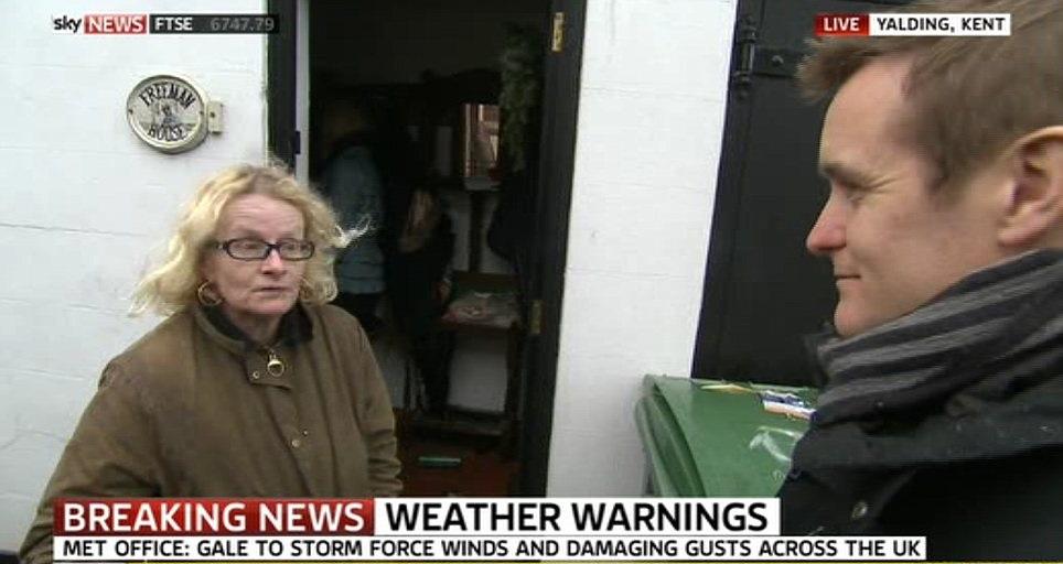 Angry Flood Victim