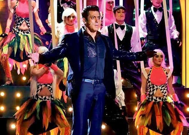 Salman Khan in Bigg Boss 7 Grand Finale