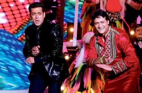 Salman Khan and Armaan Kohli perform in Bigg Boss 7 Grand Finale