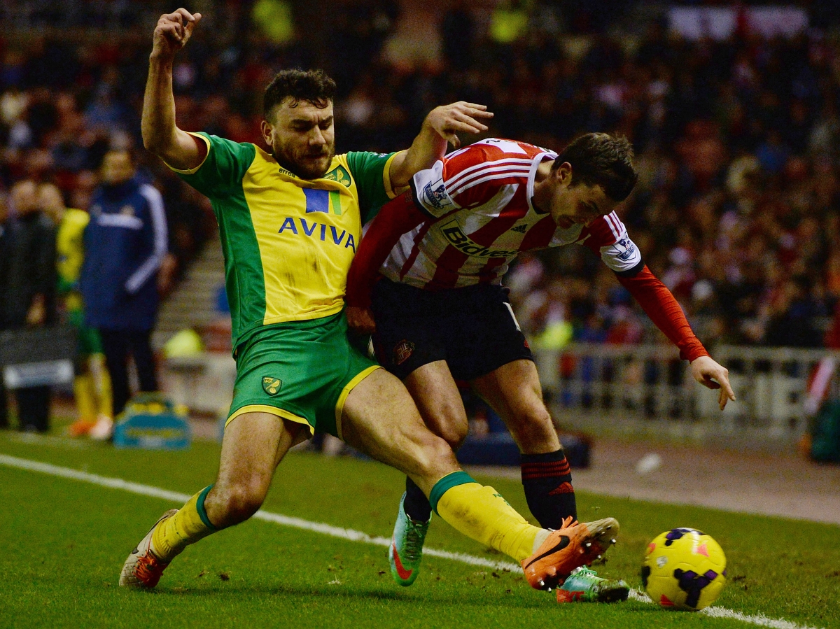Robert Snodgrass of Norwich City