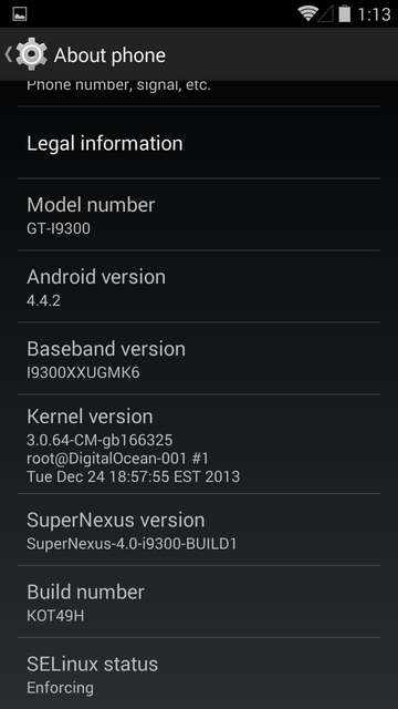 Galaxy S3 I9300 Gets Android 4.4.2 KOT49H KitKat with SuperNexus ROM [How to Install]