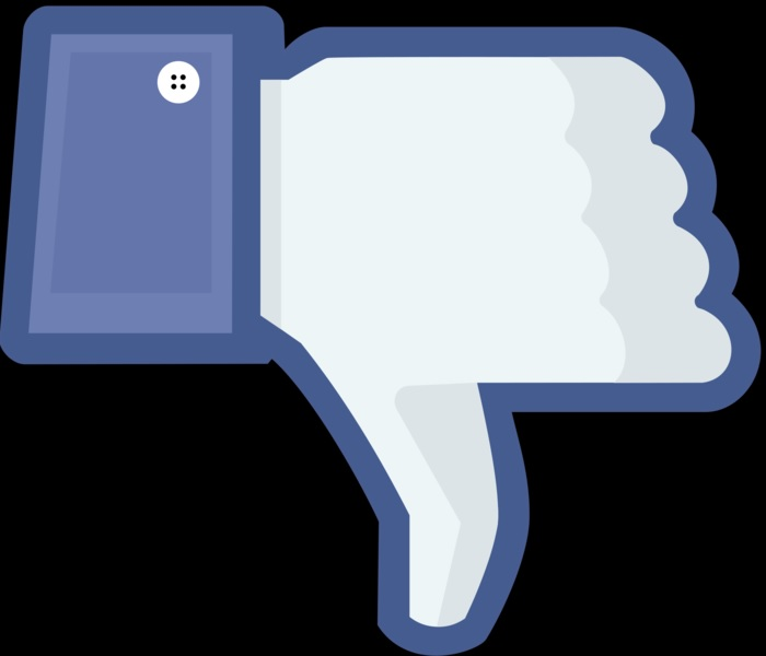Facebook gets thumbs down