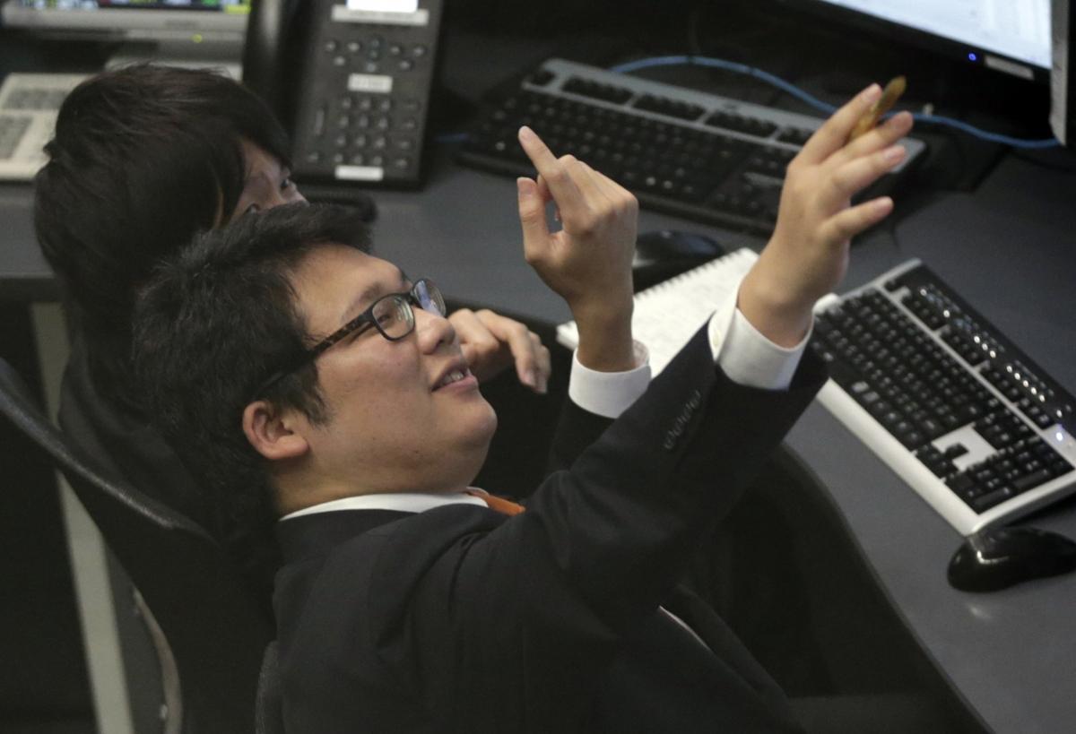 Floor Traders in Tokyo