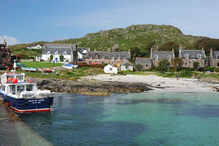 Iona, to the west Mull, Scotland