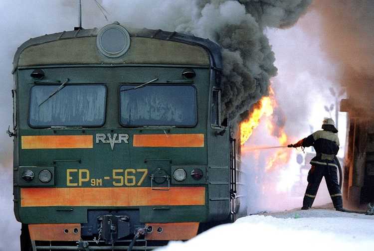 Railway explosion at southern Russian city of Volgograd
