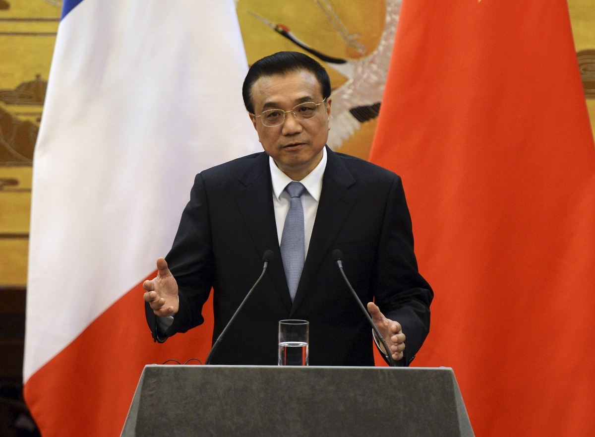China Premier Li Keqiang