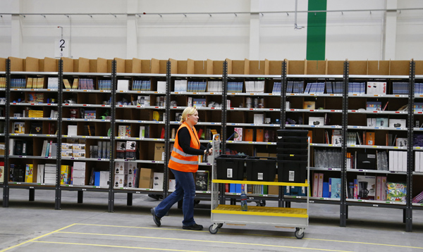 Amazon Fulfillment Centers had busiest Christmas period ever