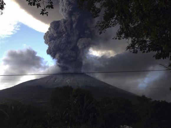 El Salvador Volcano Eruption Sparks Evacuation