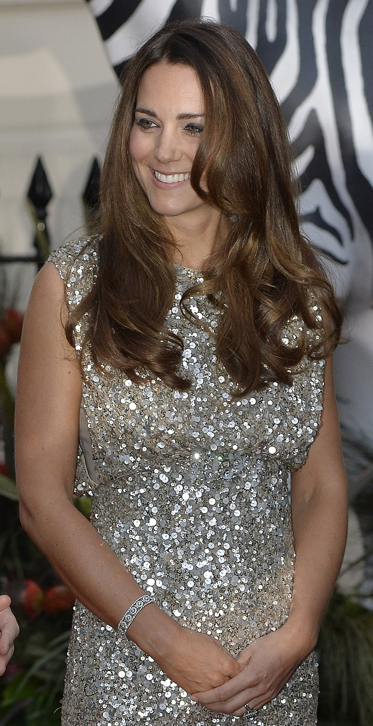 Catherine, the Duchess of Cambridge, attends the Tusk Conservation Awards at The Royal Society in London