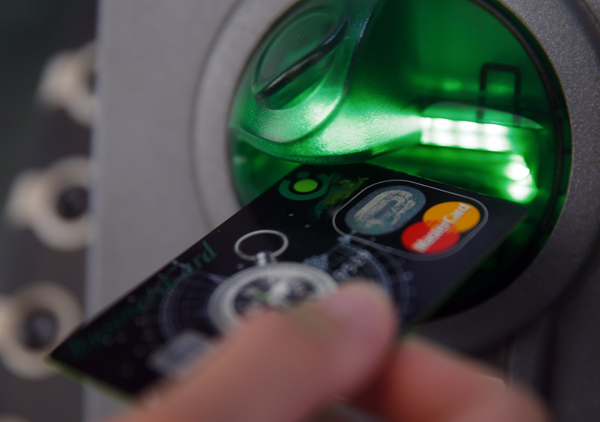 ATM Emptied Using USB Stick