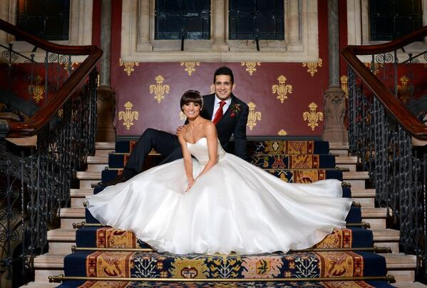 Jimi Mistry and Flavia Cacace marry in London