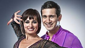 Flavia Cacace and Jimi Mistry on Strictly Come dancing