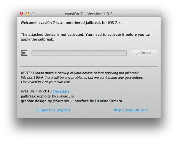 iOS 7 Untethered Jailbreak: Evasi0n7 1.0.2 Update Fixes iPad 2 (Wi-Fi) Boot Loop Issue [How to Install]