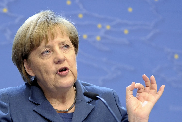 German Chancellor Angela Merkel. Germany Collects €570bn in Tax in 2013