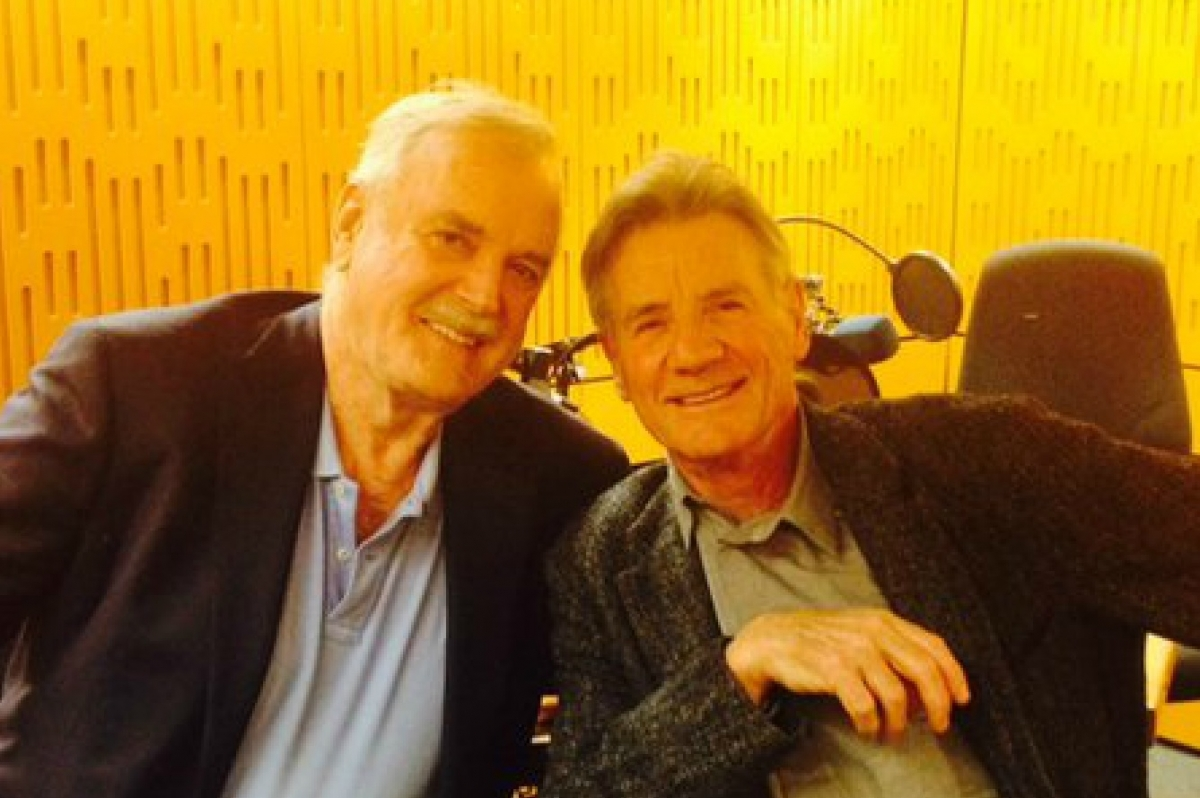 John Cleese and Michael Palin