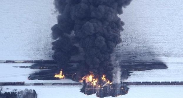 North Dakota train crash