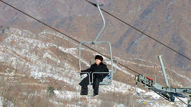 Kim Jong Un Tours North Korea Ski Resort