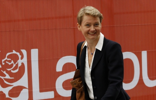 The Shadow Home Secretary Yvette Cooper