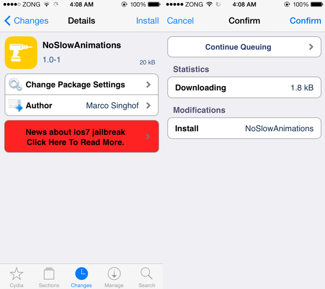 iOS 7 Jailbreak: Top Tweaks to Speed up iPhone/iPad