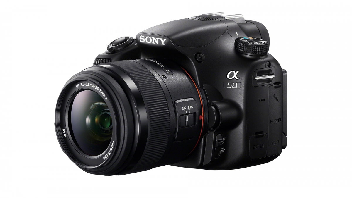 Sony Alpha A58 Interchangeable Lens Camera
