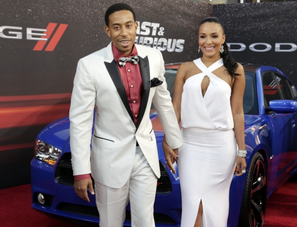 Ludacris and wife Eudoxie
