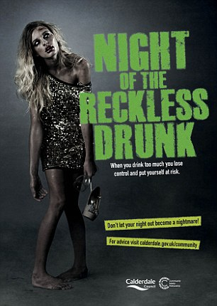 Rape Poster Controversy Blames Reckless Victims Drunks