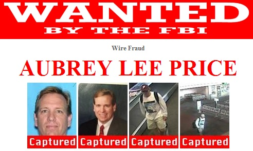 WANTED: Aubrey Lee Price